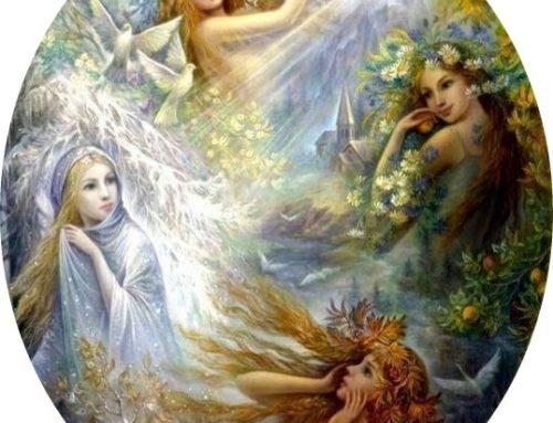 Angeli delle stagioni e della settimana