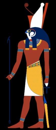 Dio horus - www.animaceleste.it - divinità egizia