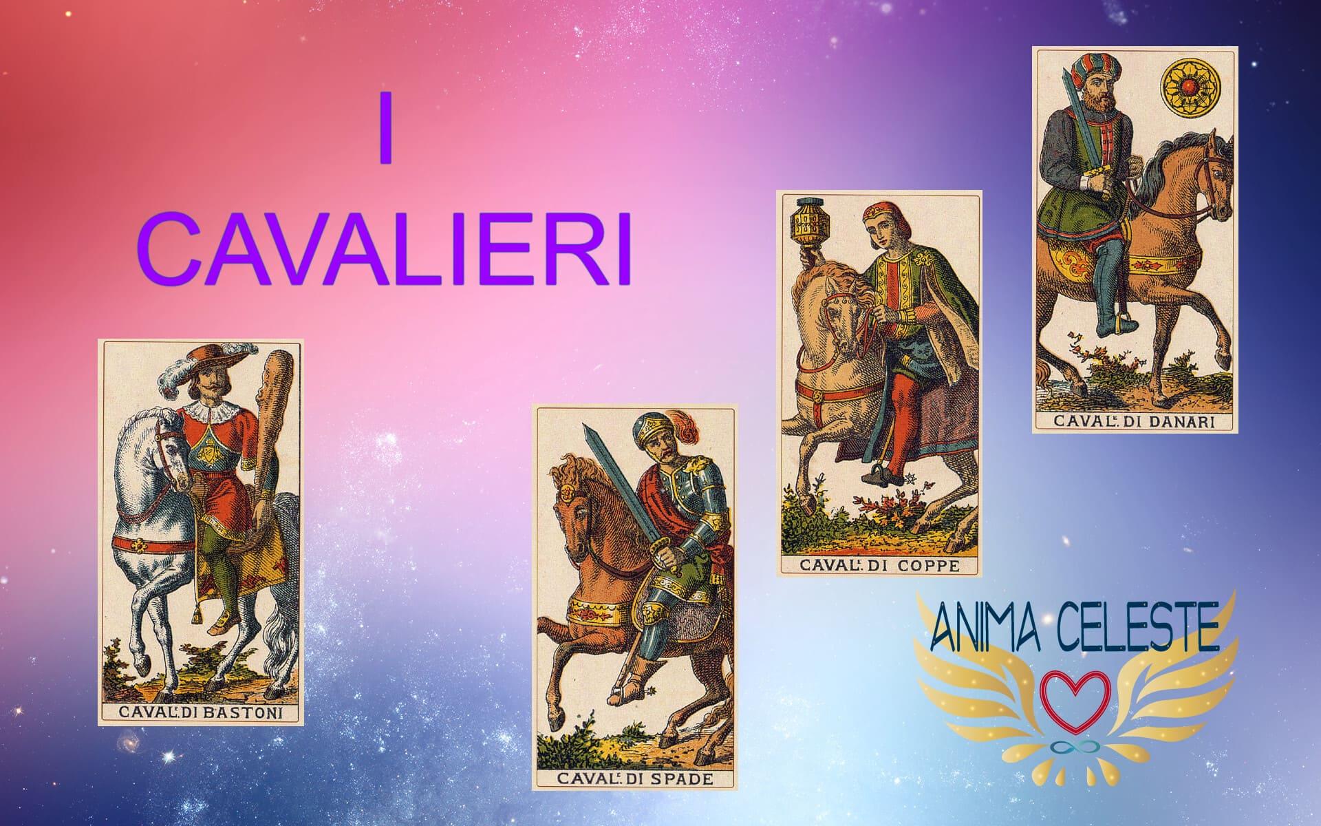 i cavalieri tarocchi arcani minori - www.animaceleste.it