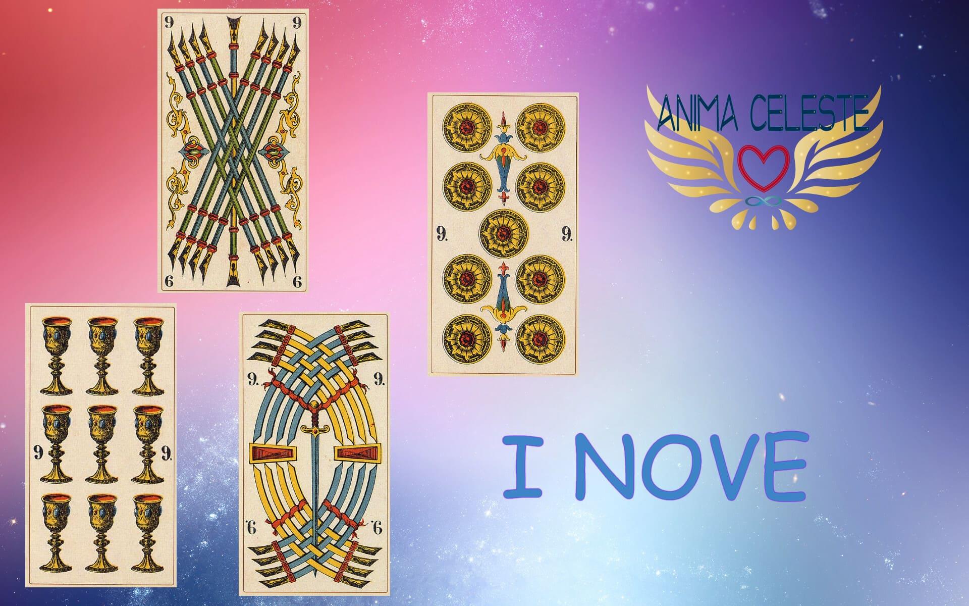 i nove tarocchi arcani minori - www.animaceleste.it