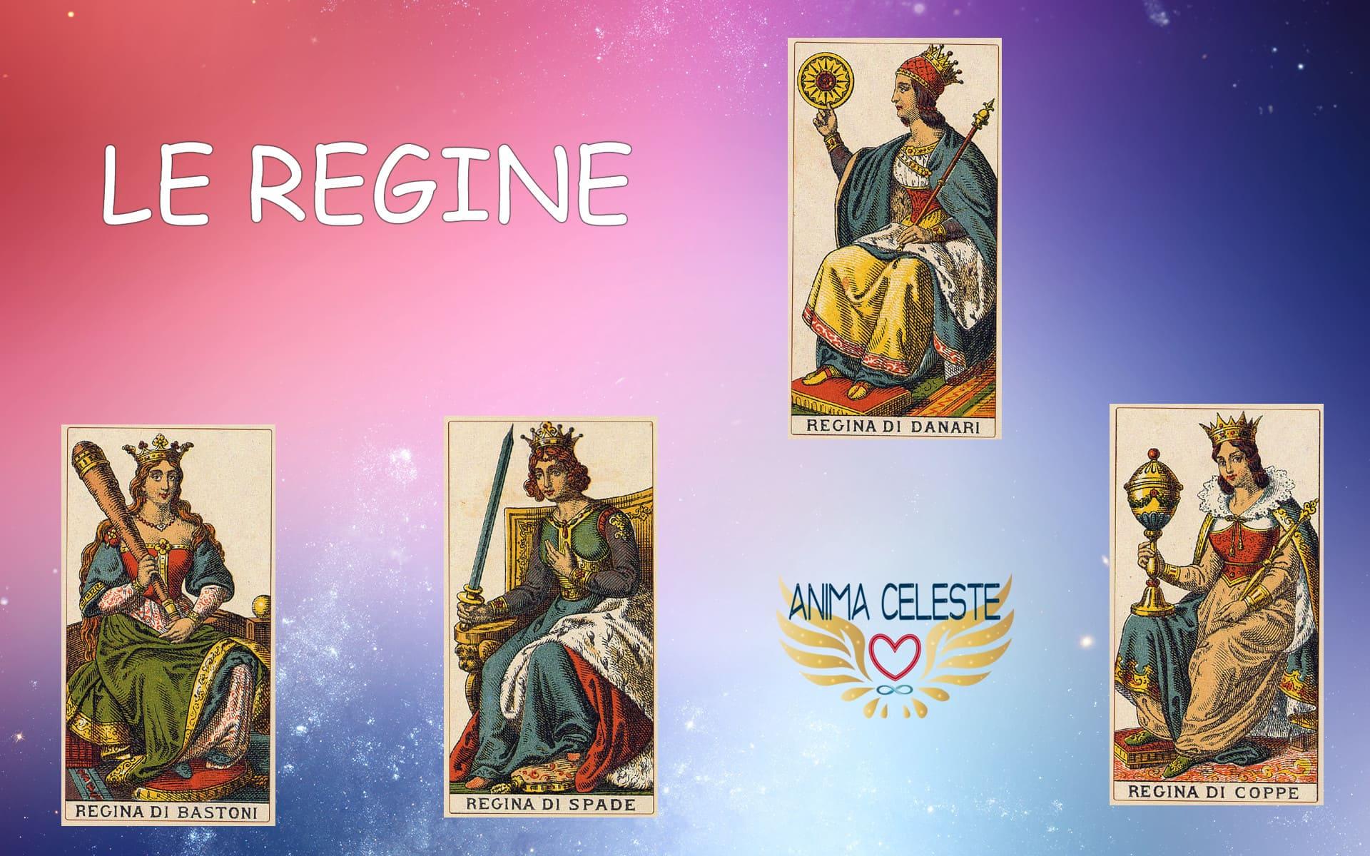 le regine tarocchi arcani minori - www.animaceleste.it