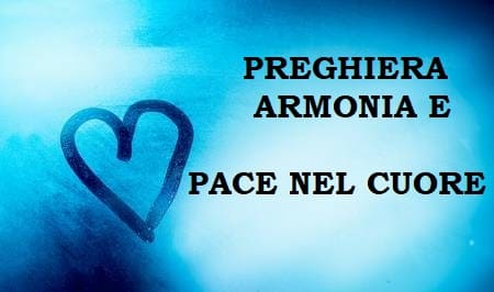 preghiera armonia e pace nel cuore 2